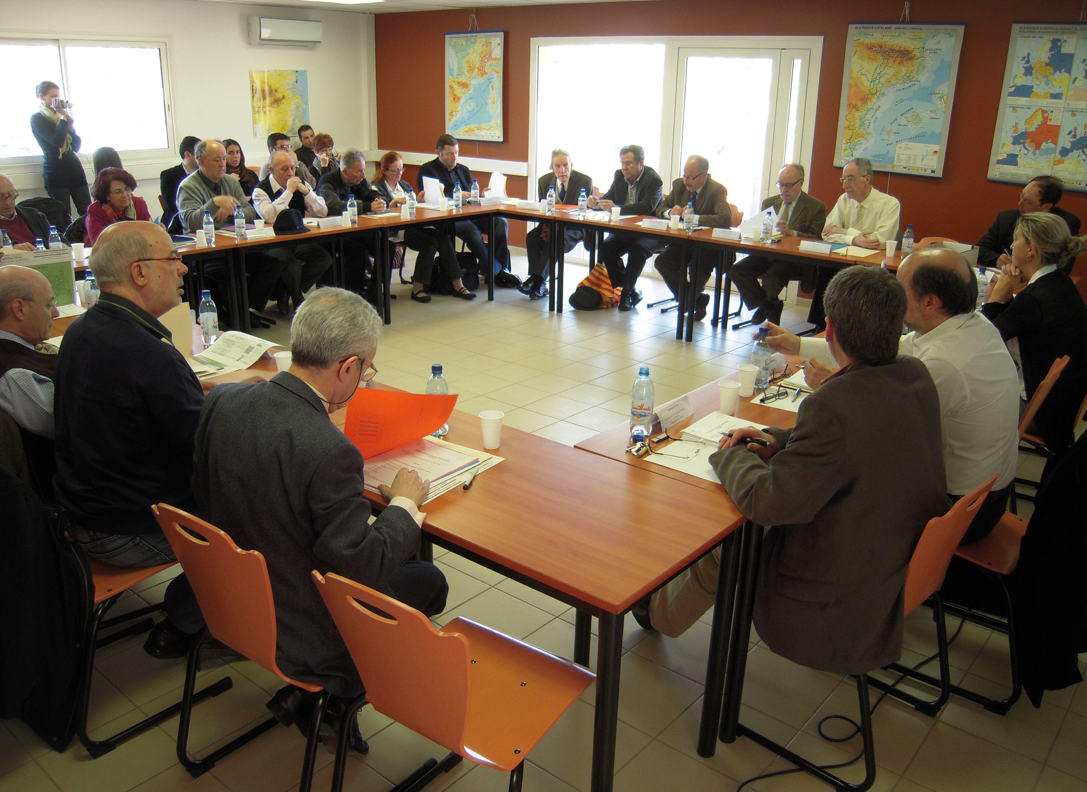 Reunió de la Secció de Filosofia i Ciències Socials el 9 d'abril de 2010